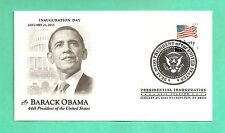 BARACK OBAMA 2013 INAUGURATION COVER ARTCRAFT - LIBERTY STAMP- RETAIL $3.50