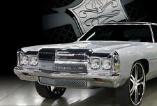 1972 Chevy Caprice Chevy Impala chrome mesh grille grill old school 2 piece