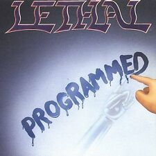 LETHAL Programmed CD ~NUMBERED EDITION~ HITTMAN, CRIMSON GLORY, SACRED WARRIOR
