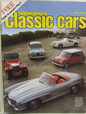 THOROUGHBRED CLASSIC CARS APR 1982 BENTLEY MULSANNE TURBO BOWLER LISTER JAGUAR