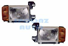 AIRSTREAM LAND YACHT 2001 HEADLIGHTS  HEAD LAMPS W/O CHROME RV - SET