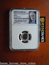 IN HAND: 2015 P REVERSE PROOF SILVER DIME NGC PF69 FROM MARCH OF DIMES SET FDR