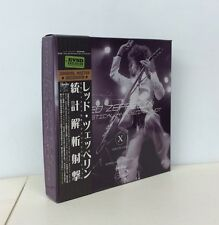 "LED ZEPPELIN ""STATISTICAL ANALYZING SHOT"" 1975, 9-CD BOX SET, EMPRESS VALLEY"
