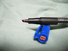 1 x Blue Pen Staedtler 314-3 Broad Point 1-2.5mm Permanent Lumocolor Dry Safe