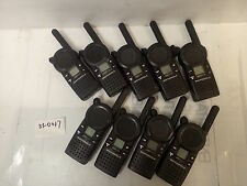 - LOT OF 9  Motorola CLS1413 Two-way Radio 4 CHANNELS  W/ BATTERY  NO CHARGER