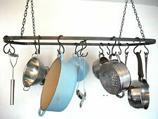 ceiling pot rack, Wrought Iron