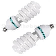 2x105w Energy Saving Lamp Lighting Bulb Fluorescent Day-light For Photo Studio