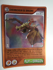 CARTE INVIZIMALS N° 191 CHEVAUCHEUR DE DRAGONS NOUVELLE ALLIANCE OR NEUF