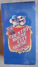 Rare 2 Pack The Country Mouse And The City Mouse Adventures VHS Game