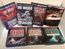 Hero/Action Adventure Audiobook Lot- Pat Conroy, Joe Weber, Ben Bova