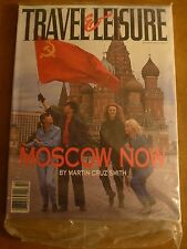 "Travel and Leisure Magazine October 1990 ""Moscow Now"" factory sealed"