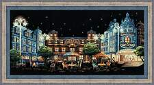 "Counted Cross Stitch Kit RIOLIS - ""Evening Cafe"""