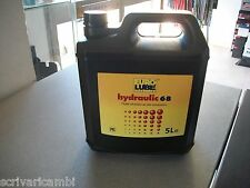 Olio Idraulico ISO VG68 EUROLUBE  Idraulic Fluid DIN  515 da litri 5