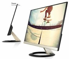 "ASUS (22) 21.5"" VZ229H IPS ultra-slim with frameless design Full HD LED Monitor."