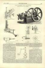 1892 Robley Gas Engine Plans Diagrams