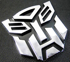 Transformer 3D Car Decal Emblem Chrome Autobot Car/Bike Swift,Maruti,Suzuki,Alto