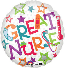 GREAT NURSE Graduate Appreciation Thank You  Birthday Party Mylar Balloon