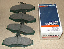 Daewoo Leganza Nubira Set Of Rear Brake Pads Part Number 96391892 Genuine