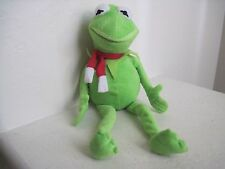 "Best Made Toys MUPPETS KERMIT THE FROG 17"" Green Plush Stuffed Animal"