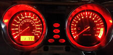 RED SUZUKI GSX1400 led dash clock conversion kit lightenUPgrade