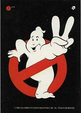 1989 Topps Ghostbusters 2 Sticker #11 Ghostbusters 2 Logo   Sign