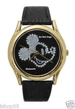 NEW Men's Disney Mickey Mouse Rhinestones Large Watch HTF