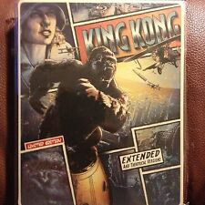 King Kong Blu-ray Steelbook Limited Edition Extended and Theatrical Version