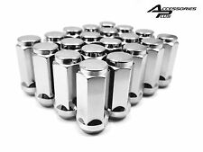 20 Pc DODGE 9/16 CHROME SOLID CUSTOM AFTERMARKET WHEEL LUG NUTS #1910L