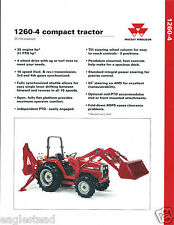 Farm Tractor Brochure - Massey Ferguson - MF 1260-4 Compact - c1993 (F4449)