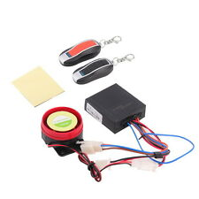 Motorcycle Bike Anti-theft Security Alarm System Remote Control Engine FT