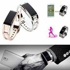 Bluetooth Smart Bracelet Luxury Watch For Apple 6 plus Samsung Android Phone
