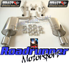 Milltek SSXAU100 Audi A4 3.0 B6 Quattro Exhaust System Cat Back Resonated Jets
