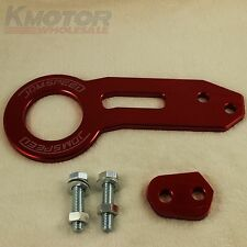 RED JDMSPEED High Performance CNC Aluminum Racing Rear Tow Hook Kit