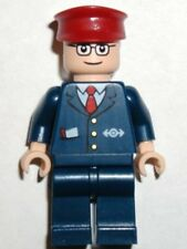 LEGO 4855 - SPIDERMAN - Subway Train Conductor MINI FIG / MINI FIGURE