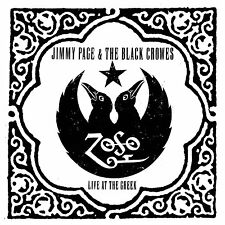Jimmy Page & Black Crowes Live At The Greek WHITE VINYL LP Record! led zeppelin+