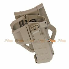 Polymer Hard Case Movable Holster for Marui WE Army 1911 Hi-Capa 5.1 Airsoft TAN