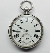 Antique Mock Pendulum Silver Pocket Watch J.W.Benson London