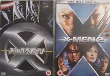 X-MEN 1 & 2 [One,Two] Jackman*Paquin*McKellen Marvel Superhero Action DVD *EXC*