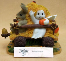 "CHARMING TAILS, FITZ AND FLOYD, ""HAUNTED HAYRIDE"" ITEM 85/883"