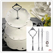 3 Tiers Cake Display Tower  Wedding Party Stainless Steel Cupcake Holder Stand