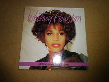 WHITNEY HOUSTON - ALL THE MAN THAT I NEED !!45T / 7 INCHES !!!FRENCH PRESSING