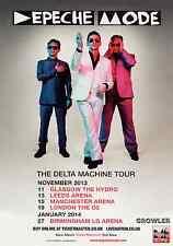 DEPECHE MODE 2013 TOUR FLYER - RARE LIVE DAVE GAHAN CONCERT GENUINE MUSIC PROMO