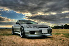 Carbon Front Spoiler Fit For 99-02 Nissan S15 Silvia AB Flug Front Lip Undertray