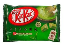 10 Bags - Kit Kat Matcha Green Tea KitKat Mini w/12-Bars in each Bag USA Seller