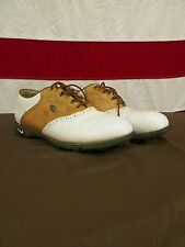 Nike Zoom Air Shoes Golf Cleats Vintage  Women's Size 7.5 Leather Suede