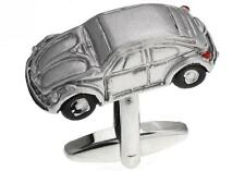 Car Iconic VW Bug Beetle Cufflinks Silver Wedding Fancy Gift Box Free Ship USA