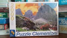 Clementoni Val Gardena 2000 Piece Jigsaw Puzzle New Sealed Italy