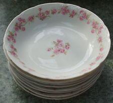 GDA FRANCE HAVILAND LIMOGES CH FIELD FONTAINBLEAU Dessert or Fruit Bowl FLORAL