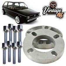Vw Golf Mk1 Mk2 Caddy Polo Corrado 10mm Pair Wheel Spacer Kit  M12x1.5 XL Bolts