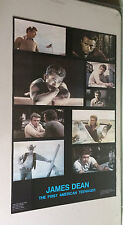 original vintage movie collage photo poster 1978 James Dean pin-up one stop 70s